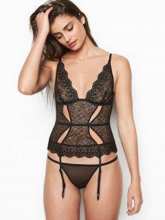 Корсет Victoria's Secret 202933820 L Черный (1159749525)