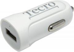 Автомобильное зарядное устройство Tecro TCR-0121AW White