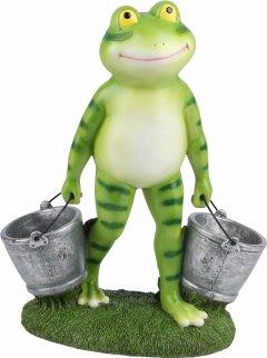 Декоративная фигурка Engard Лягушка с ведрами 27.5х13.7х35 см (KG-32)
