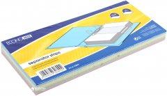 Картонные разделители Economix 240 х 105 100 штук цветные (E30809)