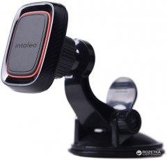 Автодержатель для телефона магнитный Intaleo CM01GP Black (1283126483677)