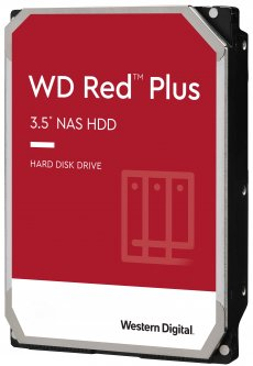 Жесткий диск Western Digital Red Plus 8TB 5400rpm 256MB WD80EFAX 3.5 SATA III