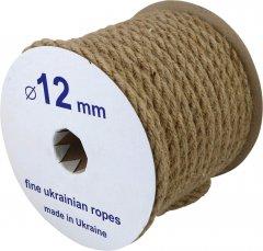 Канат джутовый Радосвіт 12 мм х 25 м Кремово-кофейный (4820172930143)