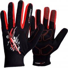 Велоперчатки PowerPlay 6607 L Red/Black (PP_6607_L_Red/Black)