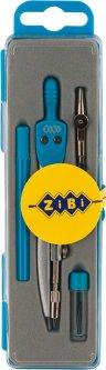 Готовальня ZiBi Basis 4 предмета Голубая (ZB.5303BS-14)