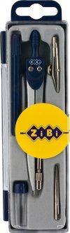 Готовальня ZiBi Basis 5 предметов Темно-синяя (ZB.5304BS-03)