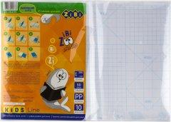 Набор клейкой пленки для учебников 10 листов ZiBi 380x270 мм Прозрачный (ZB.4793)
