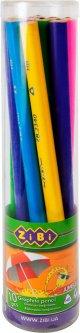 Карандаш графитовый ZiBi Baby Line Jumbo HB без ластика в тубе 10 штук (ZB.2340-10)