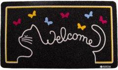 Придверный коврик IzziHome Italyan Kokardo Cat Welcome 40x70 (2200000542038)