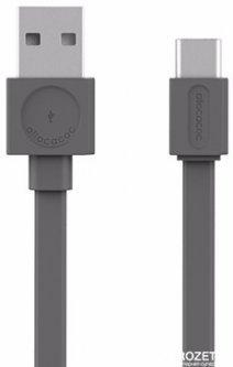 USB кабель Allocacoc USB-C 1.5 м Серый (10453GY/USBCBC)