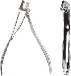 Щипцы для ногтей Titania 1054 гнутые хромированные (1054)