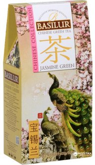 Чай зеленый Basilur Китайский Зеленый жасмин 100 г (4792252936812)