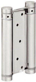 Петля для двухстороннего открывания Hafele Стальная никелированная 150 x 26 мм (927.01.370)