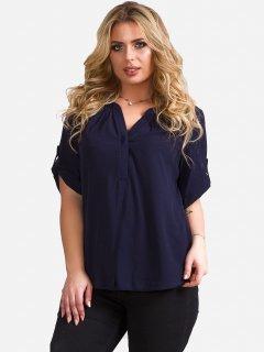 Блузка DEMMA 5636 46 Темно-синяя (4821000020296_Dem2000000003948)