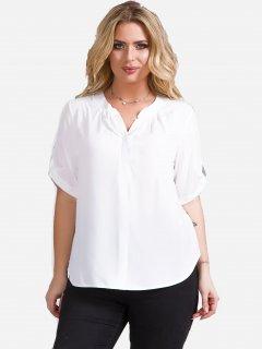 Блузка DEMMA 5636 52 Белая (4821000020500_Dem2000000019727)