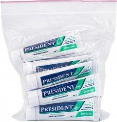 Крем для фиксации PresiDENT для протезов 5 г х 12 шт (8030009816342)