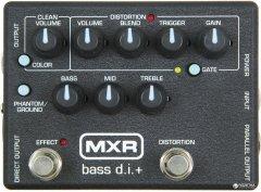 Педаль эффектов Dunlop M80 MXR Bass D.I.+