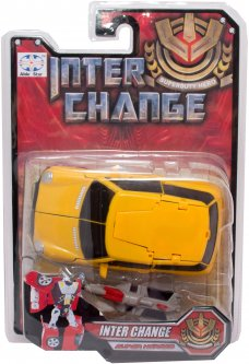 Транс-робот Able Star Желтый (9391_желтая)