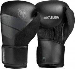 Боксерские перчатки MMA Hayabusa S4 12 унций Черные (HB_S4_Black_12oz)