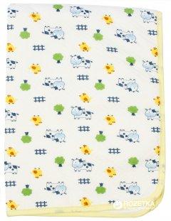 Детская непромокаемая пеленка Lindo 7140 50х70 см Желтая (4890210571409)