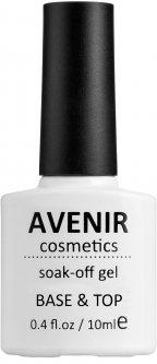 Гель-лак Avenir Cosmetics 2в1 топ и база 10 мл (5900308135167)