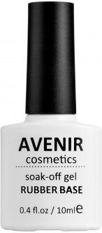 Каучуковое базовое покрытие Avenir Cosmetics 10 мл (5900308131015)