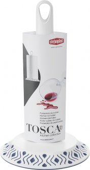Держатель бумажных полотенец Stefanplast Tosca Бело-голубой (55301)