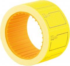 Этикет-лента Economix 30 x 20 мм 200 шт/уп Желтая (E21306-05)