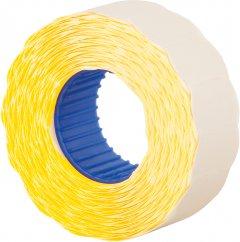 Этикет-лента Economix 22 x 12 мм 1000 шт/уп Желтая (E21303-05)