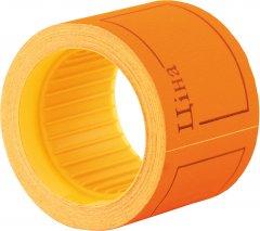 Этикет-лента Economix 50 x 40 мм 100 шт/уп Оранжевая (E21307-06)