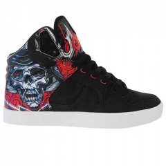 Кеди Osiris Osiris Osiris Clone Trainers Black / Red, 39.5 (250 мм) (10773615)
