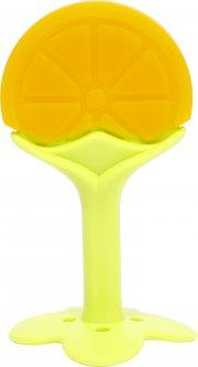Прорезыватель силиконовый Lindo в контейнере Апельсин Li 320 Оранжевый (4890210403205)