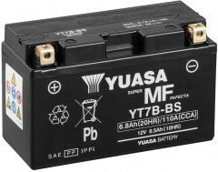 Мото аккумулятор Yuasa 12V 6.5Ah MF VRLA Battery AGM YT7B-BS (сухозаряжений) (YT7B-BS)