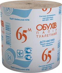 Туалетная бумага Обухов 65 1 слой 48 рулонов (4820003831755_4820003833308)