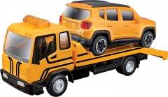 Игровой набор Bburago (1:43) эвакуатор c автомоделью Jeep Renegade (18-31417)