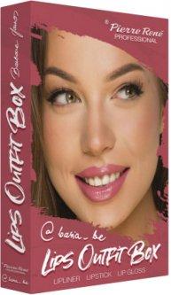 Набор косметики для губ Pierre Rene Lips Outfit Box №2 (3700467841624)
