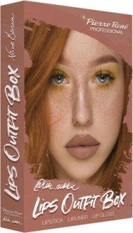 Набор косметики для губ Pierre Rene Lips Outfit Box №3 (3700467841631)