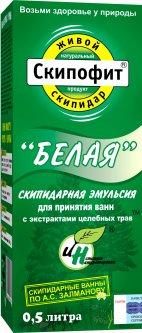 Эмульсия для принятия ванн Натуротерапия Белая с экстрактами трав 500 мл (4620004950314)