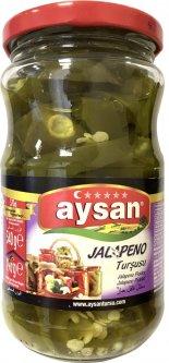 Перец острый консервированный Aysan Халапеньо 340 г (8694205001751)