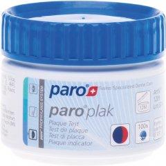 2-цветные таблетки для индикации зубного налета Paro Swiss plak 100 шт (7610458012093)
