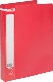 Папка пластиковая Buromax A4 60 файлов Красная (BM.3621-05)