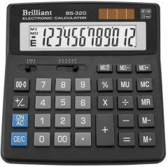 Калькулятор электронный Brilliant 12-разрядный (BS-320)
