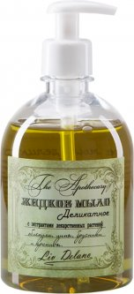 Жидкое мыло Liv Delano The Apothecary Деликатное с экстрактами лекарственных растений 480 г (4811248005469)