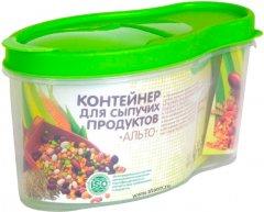 Контейнер для сыпучих продуктов Martika Альто Салатовый 1.4 л (С282 САЛ)