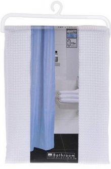 Шторка для ванной Bathroom solutions Клетка 180x180 см Белая (CY2210430_white)