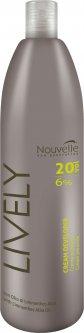 Окислительная эмульсия Nouvelle Lively Cream Peroxide 6% 1000 мл (8025337133292)