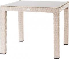 Стол Violet House 0924 Роттанг CAPPUCHINO TREND LUX 90х90 см (0924 Роттанг CAPPUCHINO TREND LUX 90*90см)