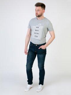 Чоловічі джинси LIVERGY 54 синій F01-230073