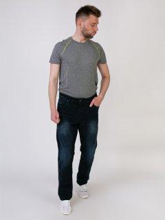 Чоловічі джинси LIVERGY 54 синій F01-230069