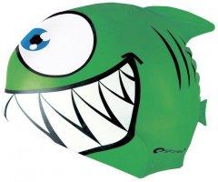 Шапочка для плавания Spokey Rekinek Green (87474)